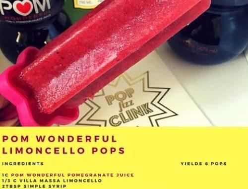 POM Wonderful Limoncello Pops!
