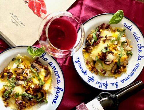 Pasta & Wine, A Perfect Combo!